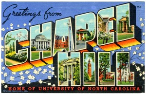 Greetings from Chapel HIll